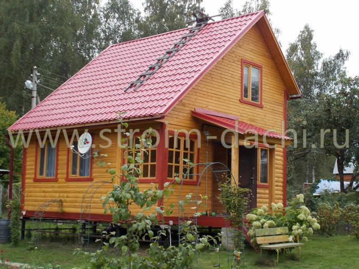Проекты дачных домиков для 6 соток: фото, описание и