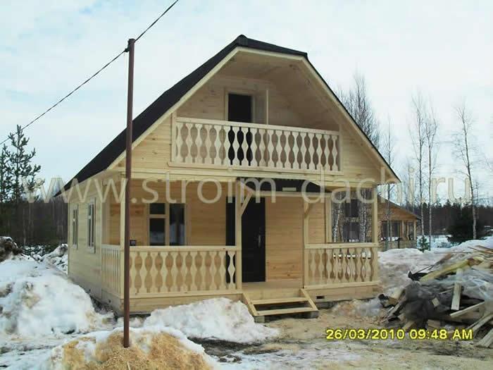 фото дома с открытой верандой