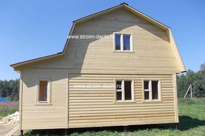 Стоимость дома из клееного бруса в Москве купить готовые