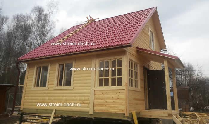 Строительство деревянных коттеджей в Красноярске