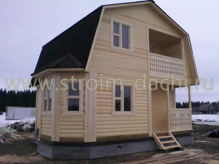 Проект бетонного дома 60-92 в Краснодаре :: Готовые