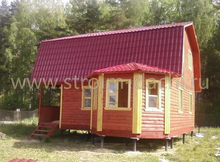 Дома из бруса в Самаре и Самарской области: проекты для