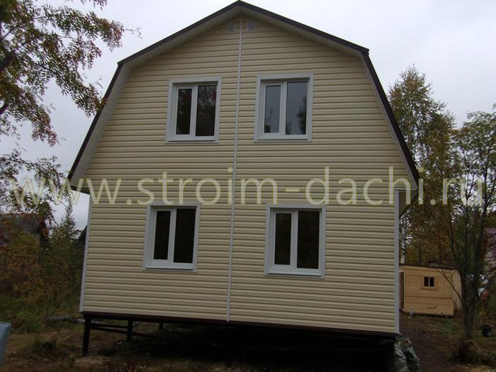 Внешняя отделка фасада загородного дома в Москве и МО